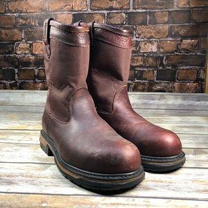 Rocky Ironclad Wellington steel toe boots